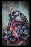 Her heart was made of feathers and flowers by aliceinsane