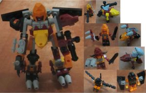 KRE-O A2227 Predaking by aim11