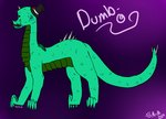 Dumb-o the Dragon by MorningDesiree