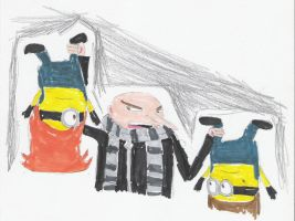 Day 7- The Minions by Anna-aurion