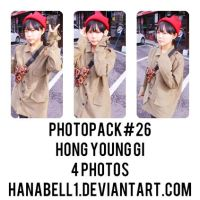Photopack#26 Hong Young Gi by HanaBell1