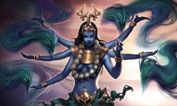 Heroes of Newerth - Kali by Izaskun