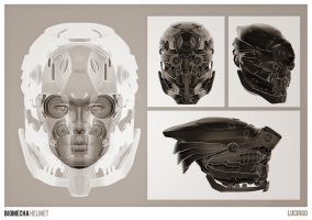 BioMecha Helmet by lucirgo