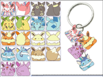 Eeveelution Keychains (Please help!) by Na0h