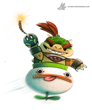 Daily Painting #916 - Bowser Jr. by Cryptid-Creations