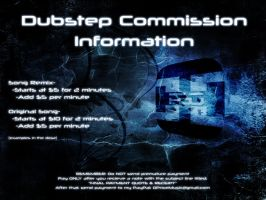 DUBSTEP COMMISSION INFORMATION!!! by PSOrchestra