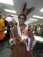 ( Pokemon ) Eevee Cosplayer at Animate!Miami! by KrazyKari