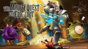 the MIGHTY QUEST for EPIC LOOT-Wallpaper-Knight by Christian2506