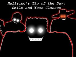 Hellsing's Tip of the Day by StrangelyOrange