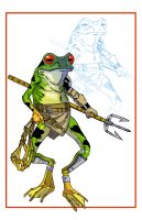 DD062 Gladiator Frog by TicTacFinger