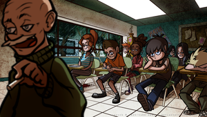 Nobody actually pays attention in this class. by TuxedoDemon