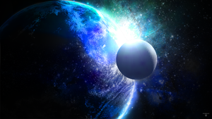 Space Wallpaper by FoehnGFX