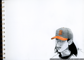 Tim Lincecum: Orange Friday by mccovey
