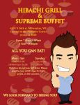 Hibachi Grill and Supreme Buffet Ad by mistress-daydream