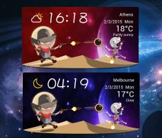 Space Cowboy Widget for xwidget by jimking
