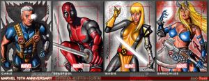 Marvel 70th Sketch Cards 11 by J-Redd