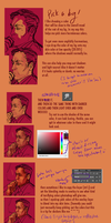 Basic Photoshop coloring tutorial by MyDearBasil