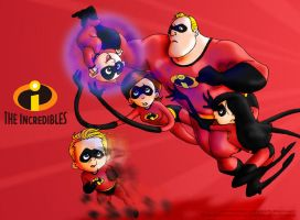 The Incredibles- maniac086 by ThePixarClub