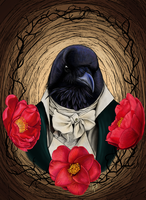The Count with camellias by boop-boop