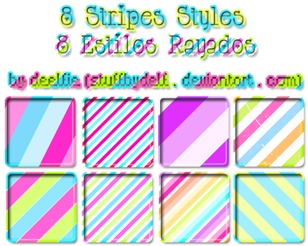 8 Styles stripes by StuffByDelf