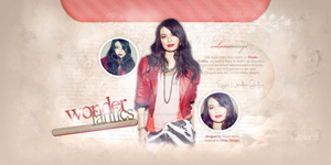 Miranda Cosgrove Header - Portfolio by DarkVisuals