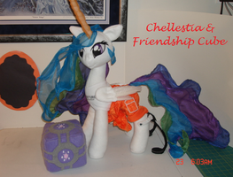 Chellestia + Cube: Crossover MLP Plushie Contest by Drachefrau