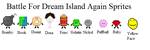 Battle For Dream Island Again Sprites by wifishark