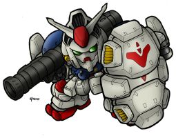 SD GP02A Physalis by MobileSuitGio