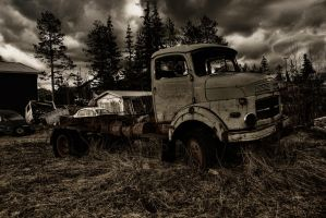 Old Means of Transport II by Ardak