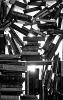 Silhouette of Books by FurbinatorZ