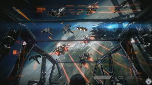 Helghast Invades:Dogfight by jano233