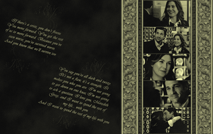 Meredith and Derek - wallpaper by meredith-grey