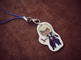 Connor Kenway Artwork Charm by TheGeekEmporium