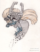 Midna (Sketch) by SBuzzard