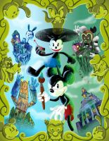 Epic Mickey  Paint and Thinner 2 by rubtox