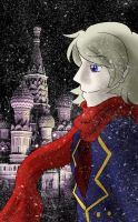 The Ever Falling Snow by Ask-Soviet-Russia