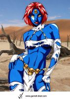 Savage Land Mystique by Mythical-Mommy