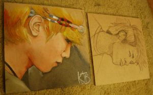 Key and Jonghyun squares by threatened-angel