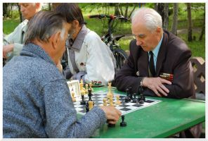 Russian chess player by nutnic