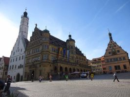 Town hall of Rothenburg by Arminius1871