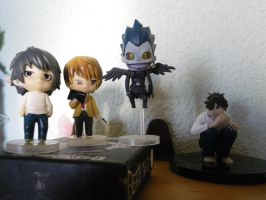 Death Note figuritas by Moskita
