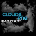 Nubes PNG by Myxcreativity