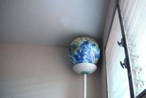 The little Earth in my room by ThatZACHARY117