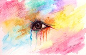 Crying Colours by fantasy-flower