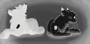 inverted version of YinYang by halothekittycat