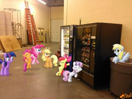 Vending Machines for a hungry pack o' ponies by OJhat