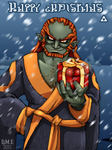 Happy Christmas from Ganondorf by tavington