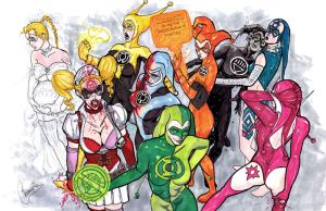 Harley Quinn War of the Rings by MChampion