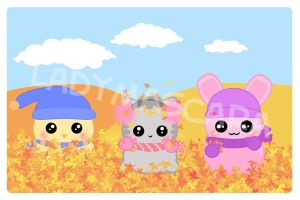 2008 Kawaii Calendar - SEPT by LadyMascara