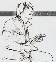 Gerard Way V -in progress- 1 by mcr-raven